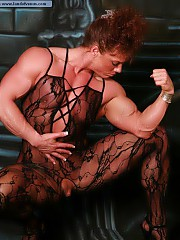 NPC female bodybuilder Sheila Bleck