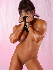 Female muscle from  IFBB Pro bodybuilder Marina Lopez