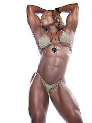 Beautiful black female bodybuilders in the world, from fitness girls, and sport athletes
