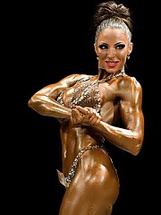Beautiful girls with muscles, a lot of female bodybuilders, fitness babes, naked muscular women